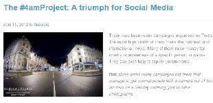 4am Project Triumph for Social Media